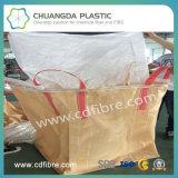 Сплетенный PP мешок тонны контейнера Jumbo большой с плоским дном