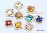 Het vierkante Bergkristal van de Juwelen van de Steen van het Kristal van het Kledingstuk voor naait (sW-Vierkant 10mm)