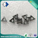 Calço do carboneto de tungstênio de Zzjg para inserções do CNC