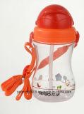personalizzata 350ml bottiglia di acqua con stampa, bottiglia di acqua sveglia (hn-1203) dei bambini del capretto