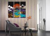 Olieverfschilderij van de Bloem van het Canvas van de Douane van de Hoge Resolutie van de Fabriek van China het Beroemde