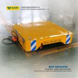Usine d'acier utilisant le chariot de manutention de la plate-forme pour le transport de matériaux