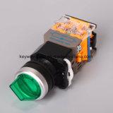 Dia22mm-La118mlx 누름단추식 전쟁 스위치, 검정, 빨강, 녹색, 황색, 파랑, 백색 색깔