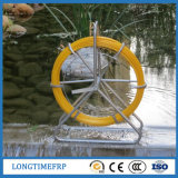 Conducto Rodder 14m m los 200m de la fibra de vidrio FRP