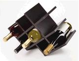 8 Flaschen-hölzernes Wein-Zahnstangen-Wein-Fach für Haus