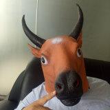 Beste verkaufende neue Partei kostümiert Unisextierlatex-Schablonen-gruselige Schablone für Halloween-Partei