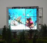 Afficheur LED polychrome du panneau-réclame P8 d'écran de DEL pour extérieur