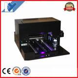 Imprimante à plat UV de la taille de l'appareil de bureau la meilleur marché A3 avec la couleur 6 pour l'impression personnelle de cadeau