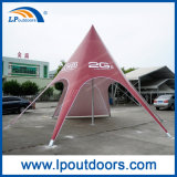 広告のための8m浜の日曜日の星の陰のくものテント