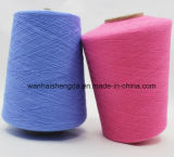 Humedad Wicking e hilado mezclado lino funcional del filamento del poliester
