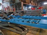 3500kg Lift van de Schaar van de Auto van de Groepering van het wiel de Mechanische