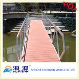Decking esterno del bacino galleggiante di Decking/di alta qualità WPC