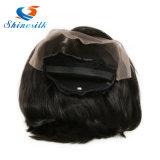 Парик человеческих волос париков вполне/передние парики шнурка