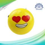 De gele Spreker van Bluetooth van het Gezicht van de Glimlach met Input USB