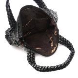Sacchetto grigio delle donne della cartella del denim di modo classico (MBNO042138)