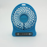 Mini ventilador de vector portable colorido de Rechargeablet con la batería de litio