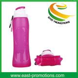bottiglia bevente del silicone pieghevole di corsa di piegatura 500ml