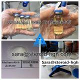 Methenolone stéroïde saupoudre l'acétate injectable de Methenolone de liquides