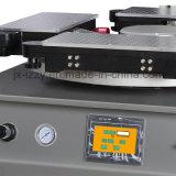 1つのカラー回転式シルクスクリーンの印字機
