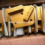 Блок гибрида PCD скрепления металла диаманта конкретный меля полируя