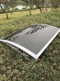 De verschillende Schuilplaats van de Regen van de Grootte Openlucht Verlengbare Afbaardende met het Stevige Blad van PC