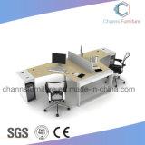 Poste de travail en bois de bureau de meubles de Tableau moderne d'ordinateur