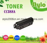 Cartucho de tóner de impresora Cc388A para HP P1007 / 1008 / M1136 / 1213/1216