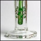 Hfyガラス卸売のためのまっすぐな管ガラスの煙る配水管のホウケイ酸塩の陶酔するような水ぎせるの管10インチの