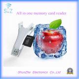 Все в одном читателе карты памяти TF поверхности стыка для USB Микро--USB молнии приспособления Androids Samsung iPhone