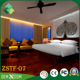 Mobília clássica européia do quarto do hotel da alta qualidade do estilo ajustada (ZSTF-07)