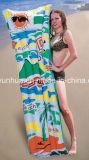 Matelas d'air gonflable de PVC de couvre-tapis d'air d'économie de PVC