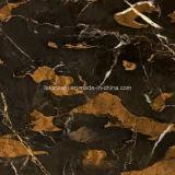 Pakistán oro negro pulido Portoro mármol para pisos / Pasos / Encimeras / Vanity Tops / Azulejos de baño