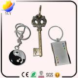 Generi differenti promozionali della catena chiave incisa del metallo