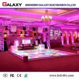 レンタルイベントのためのレンタルか固定屋内P6.25/P8.928 LEDの携帯用防水対話型のフロア・ディスプレイスクリーン、結婚式、ナイトクラブ、棒
