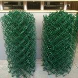 /Ячеистая сеть диаманта покрынные PE гальванизированные ограждать ячеистой сети звена цепи