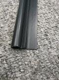 Customziedの黒いプラスチックはプロフィール企業のために処理するポストとの突き出た