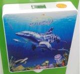 Straal-108 Tank van het Water van de badkamers de Toebehoren Aangepaste Afdrukkende Plastic