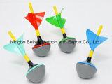 El color modificó el mini juego de los dardos para requisitos particulares del césped del jardín fijado con 4 dardos Color-Coded