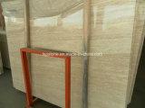 壁およびフロアーリングのための極度の白いTravertineの平板