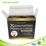 Café do cogumelo de Ganoderma da etiqueta confidencial de baixo custo para a saúde