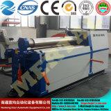 Máquinas hidráulica do rolamento/de dobra da placa de 4 rolo Mclw12CNC-12X1000 com padrão do Ce