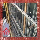 Cassaforma di taglio di montaggio della parete dell'acciaio con una volta che versa cassaforma concreta