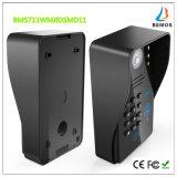 """câmera video do Doorbell do interfone do telefone da porta da senha de 7 """" RFID com fechamento elétrico"""