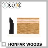 29/64 po. X 3-1/4 po. Moulage de bordage en bois de placage de chêne