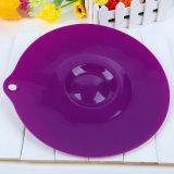 Еда силикона фабрики LFGB покрывает крышки Couvercle Hermetique всасывания для чашек, шаров, лотков или контейнеров