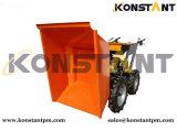 Импортированный высоким качеством Dumper затяжелителя тележки /Muck Dumper /Mini затяжелителя сада двигателя малый