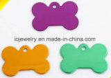 Animel Jewelry Uluminium Colorful Dog Tags pour les animaux de compagnie