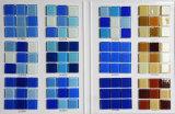 Het blauwe Mozaïek van het Glas van het Kristal