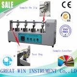 Machine de test/matériel de fléchissement en cuir Bally portatifs (GW-001)