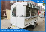 Carro del alimento de los carros de las hamburguesas para la venta
